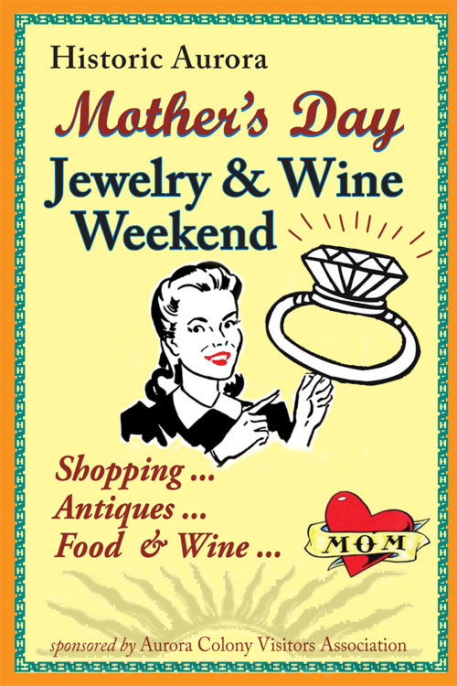 Bring Mom to town May 11 or 12 with our special package described below.