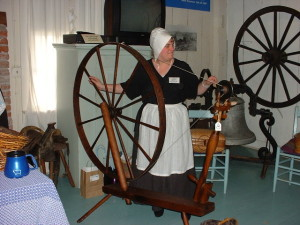 Don't miss the Antique Spinning Wheel Showcase and watch costumed spinners demonstrate this ancient craft on a wide variety of wheels from American and Europe.